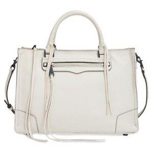 Rebecca Minkoff 'Regan' white satchel purse